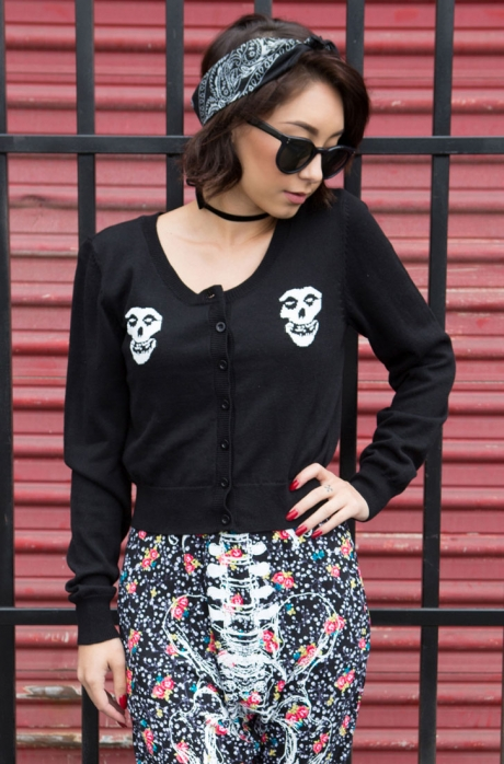 Misfits Cropped Cardigan