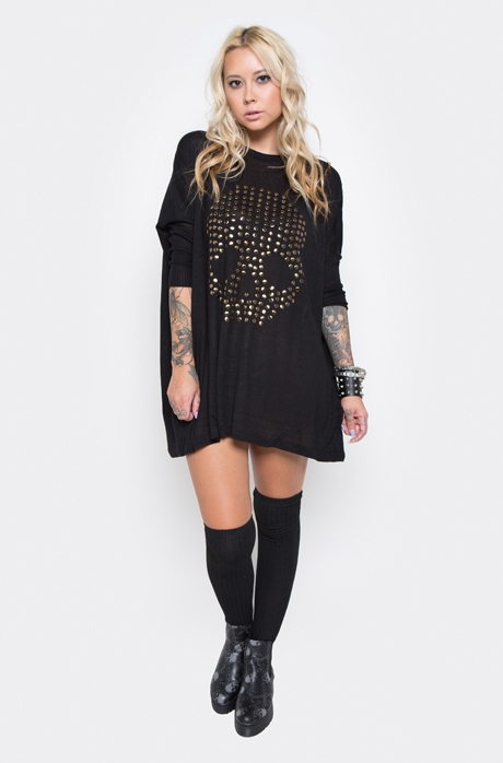 Get Nailed Sweater Dress